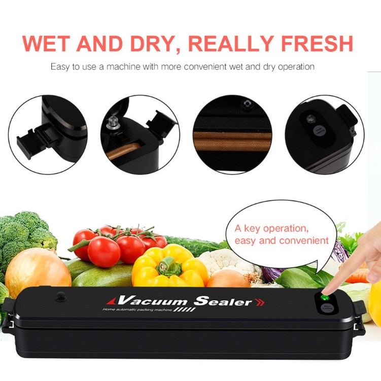 Food Vacuum Sealer Seal Machine Film-Pembalut plastik makanan