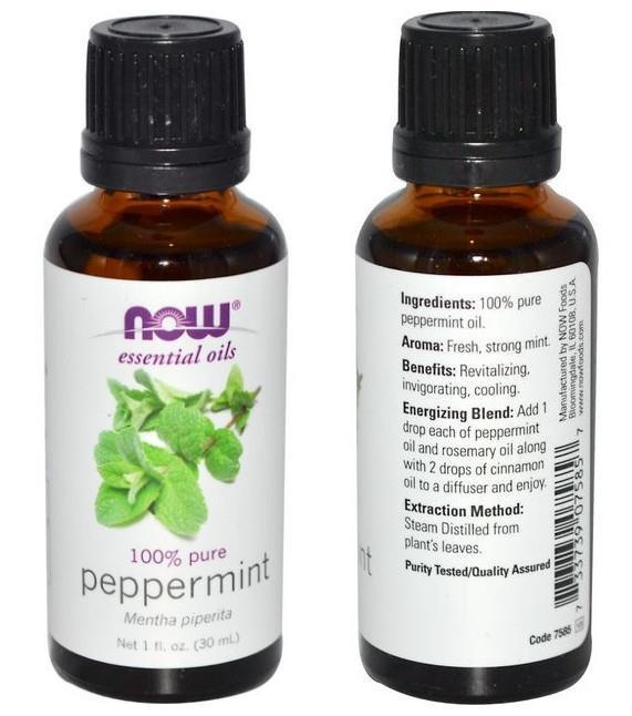 Now Foods, 100% Pure Peppermint Essential Oil (30 ml, 59 ml)