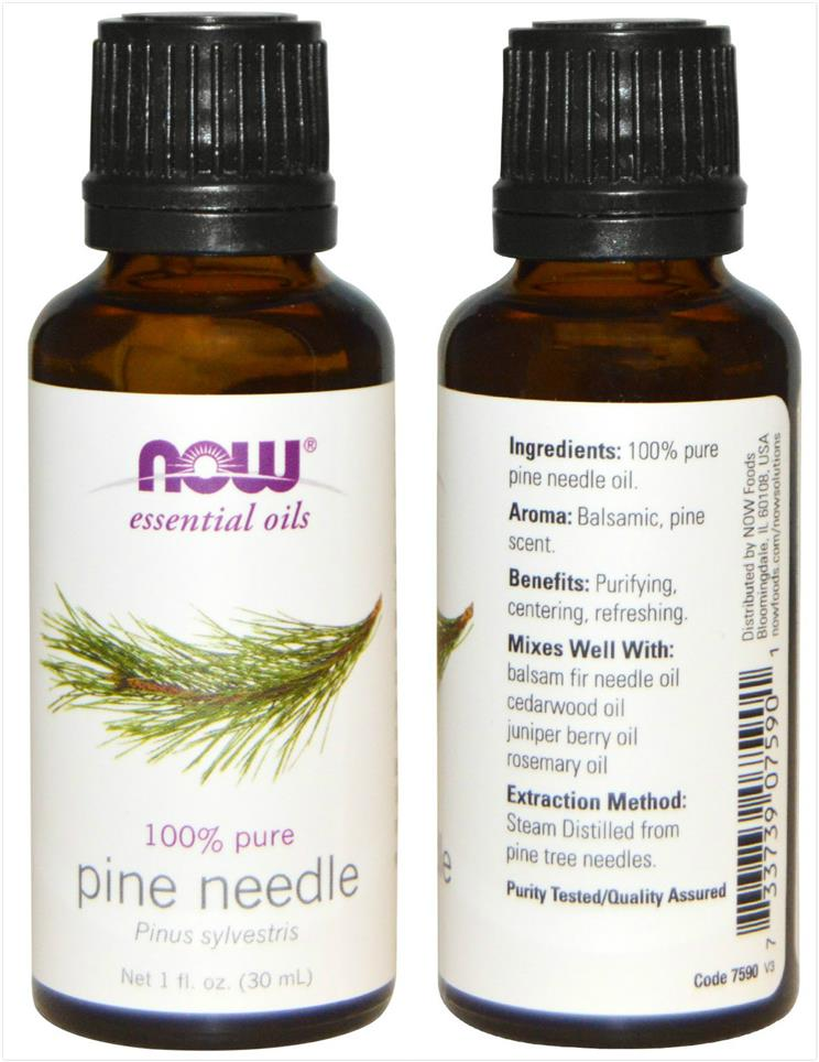 Now Foods, 100% Pure Pine Needle Essential Oil (30 ml)