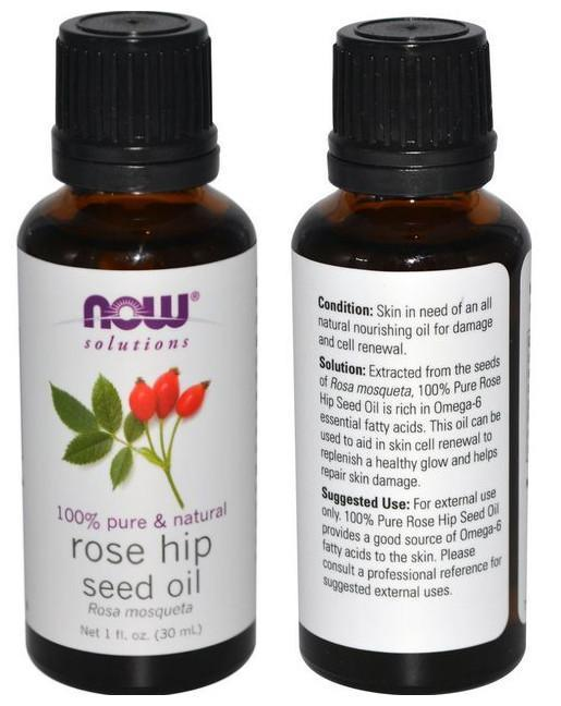 Now Foods, 100% Pure Rosehip Seed Oil (30ml)