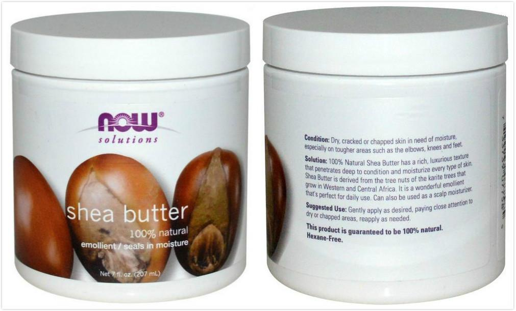 Now Foods, 100% Pure Shea Butter (207 ml)