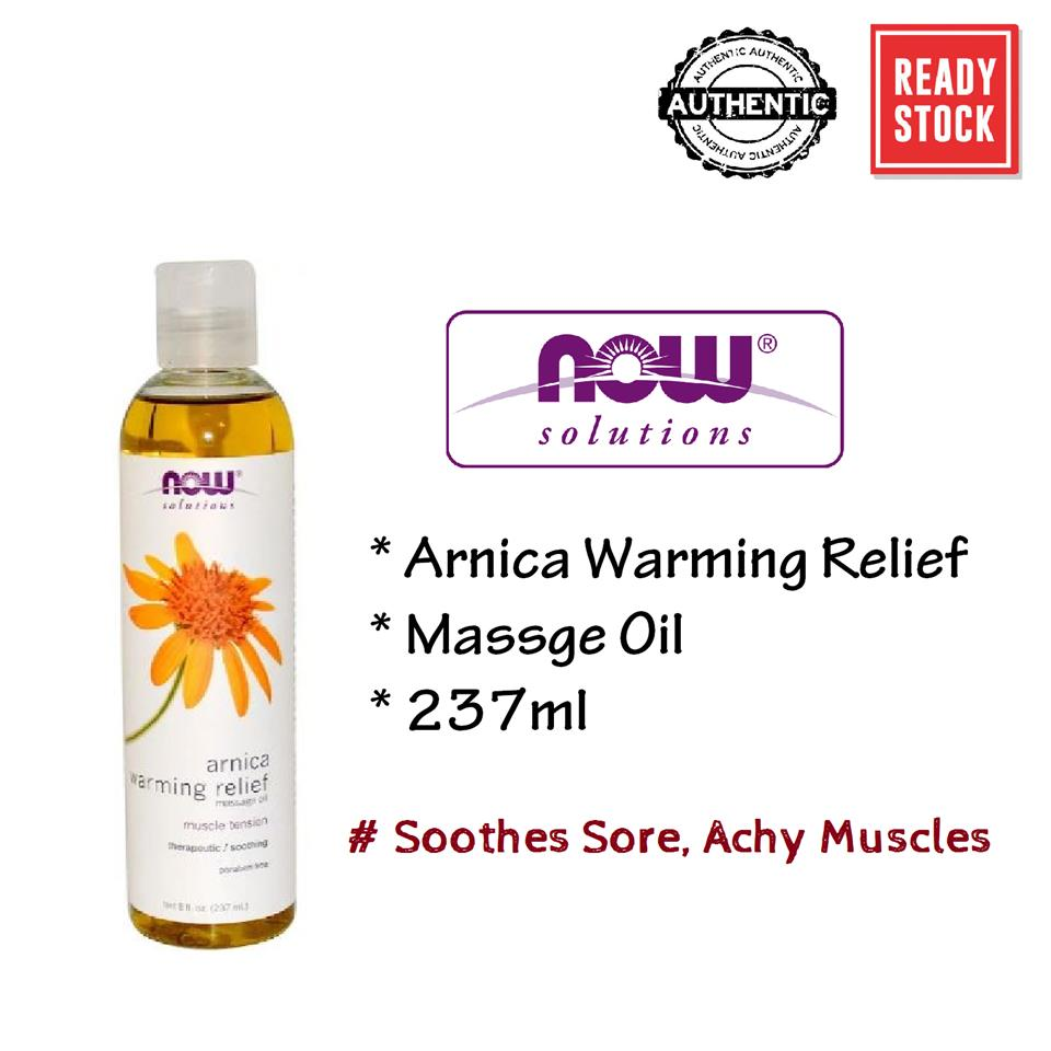 Now Foods, Arnica Warming Relief Massage Oil (237ml)
