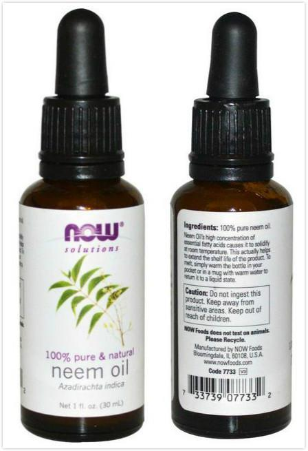 Now Foods, Pure Neem Oil, Skin Relief (30 ml)