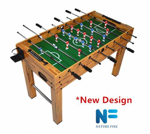Foosball Table Soccer F01 * New Wood Design. U2039 U203a
