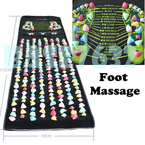 Foot Massage Walking Mat Pad Long Reflexology acupressure 170cmx35cm