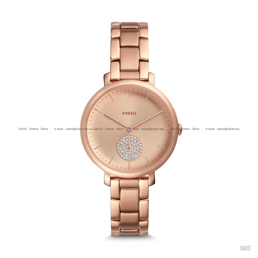 fossil es4438 women jacqueline 3 hand (end 8 8 2020 5 19 pm)fossil es4438 women jacqueline 3 hand glitz subeye bracelet rose gold \u2039 \u203a