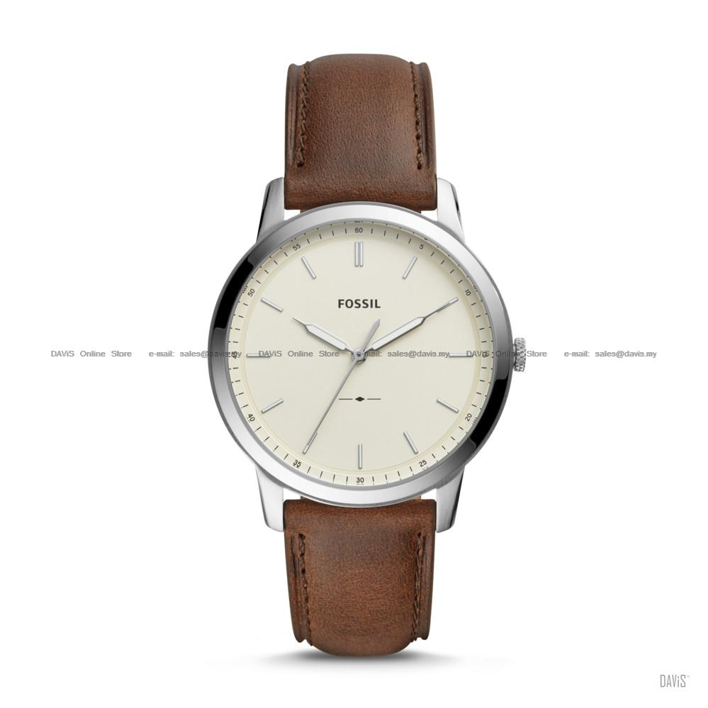 FOSSIL FS5439 Men's The Minimalist 3-hand Leather Strap Brown