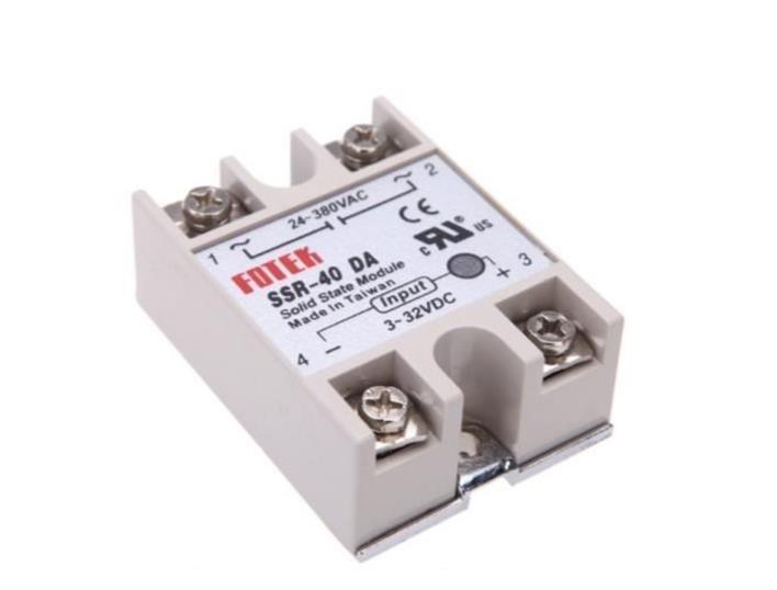 fotek 25a 40a 75a dc to ac solid state relay ssr - 25da 40da 75a