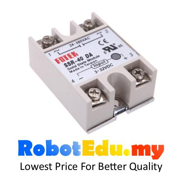 Fotek 25A 40A DC to AC Solid State end 7202019 1215 PM