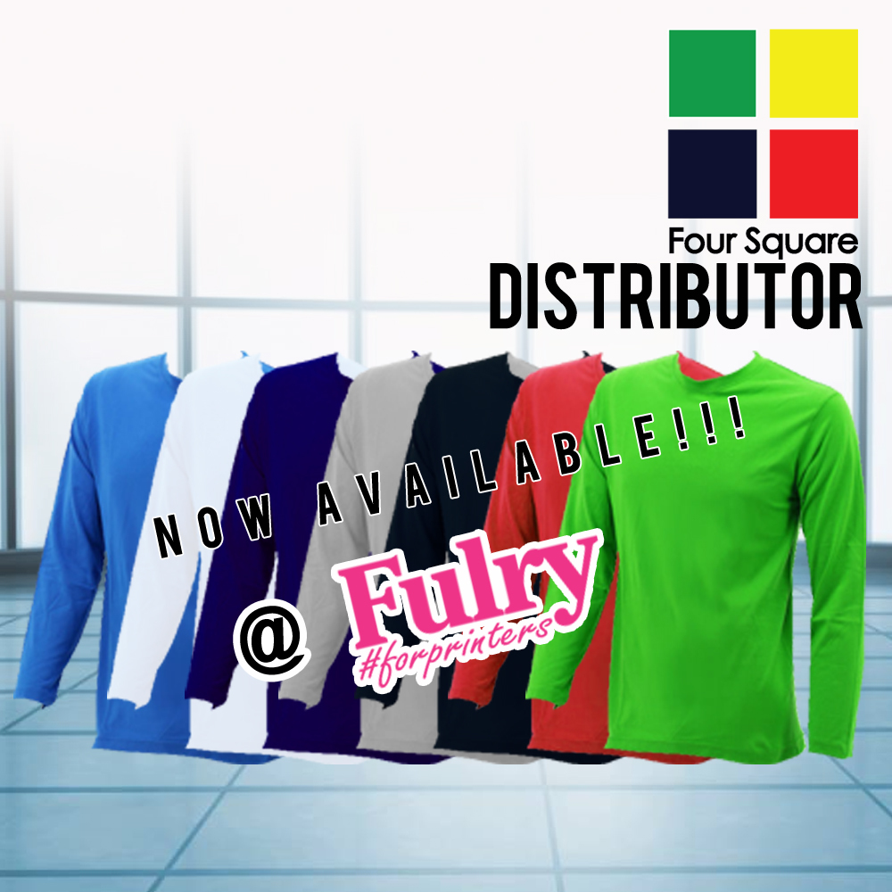90ee7eccf6289e Foursquare Unisex Round Neck Long Sleeve T-Shirt Malaysia (Navy Blue)