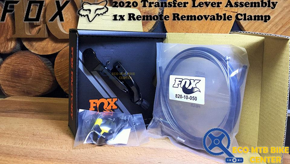FOX 2020 Transfer Lever Assembly 1x Remote Removable Clamp