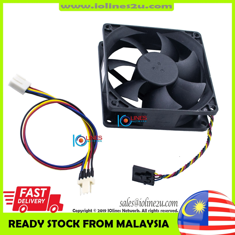 Foxconn PVA080G12H-P00 0.60A 80*80*25mm 12V Cooling Fan Dell 5-pin 4-wires pro