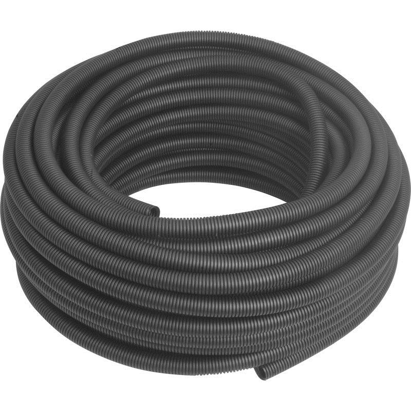 FPC25MMB 25 mm PVC FLEXIBLE CONDUIT WHITE 40METER (BLACK)