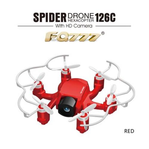 FQ777 126C MINI SPIDER DRONE 2.4G RC HEXACOPTER 6 AXIS GYRO 3D ROLL ON