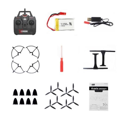 FQ777 955 2.4G 4CH 6-AXIS GYRO CF MODE RTF RC QUADCOPTER AIRCRAFT TOY