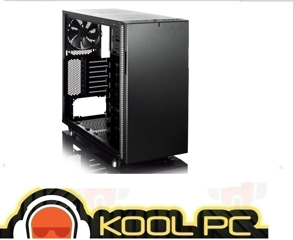 # Fractal Design Define R5 Blackout Edition Non-Window ATX Case