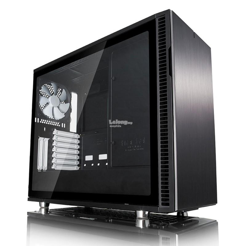 FRACTAL DESIGN DEFINE R6 ATX TEMPERED GLASS MID TOWER CHASSIS