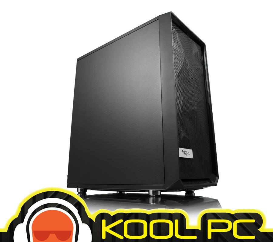 * Fractal Design Meshify C Blackout Solid Panel ATX Case