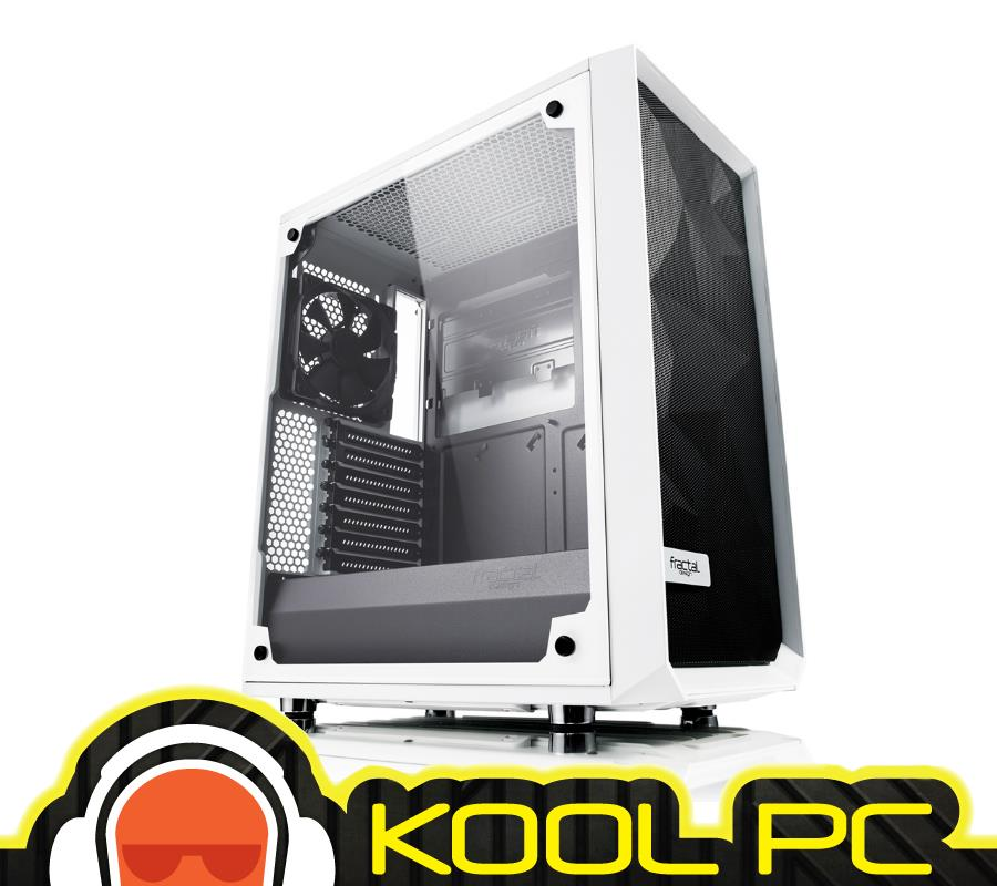 * Fractal Design Meshify C White Tempered Glass