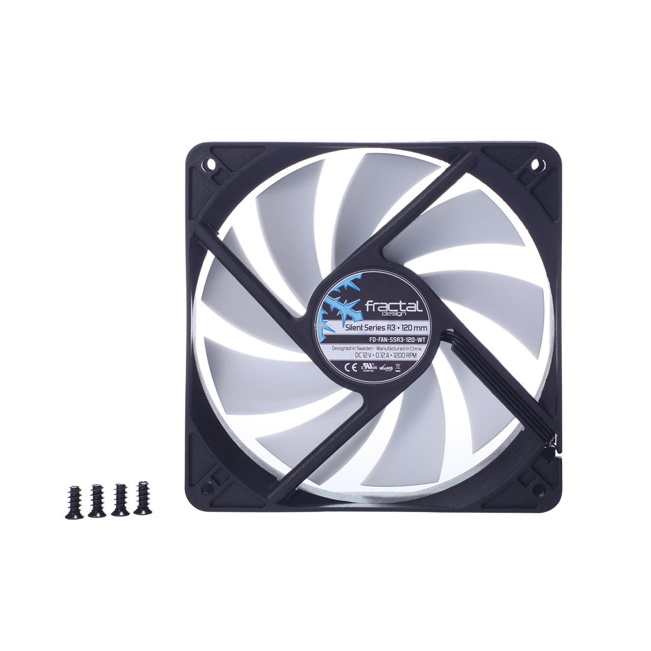 FRACTAL DESIGN SILENT SERIES R3 120MM CHASSIS FAN