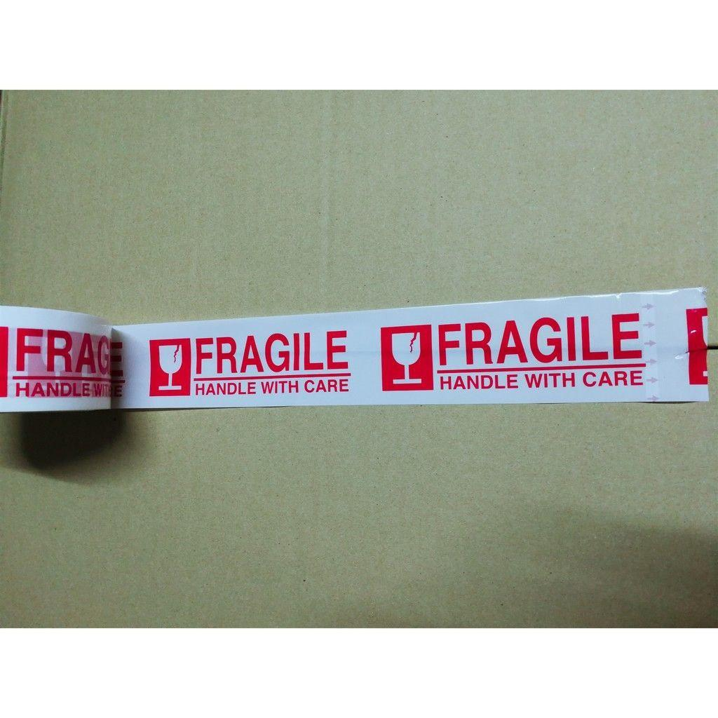 Fragile OPP Tape 50mic x 48mm x 50m