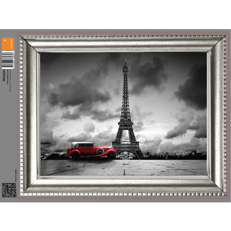 Frame sticker vintage red car and end 8132020 1128 pm frame sticker vintage red car and eiffel tower jeuxipadfo Images