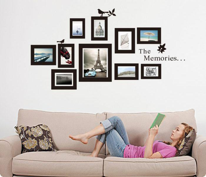 Frame type Wall Sticker