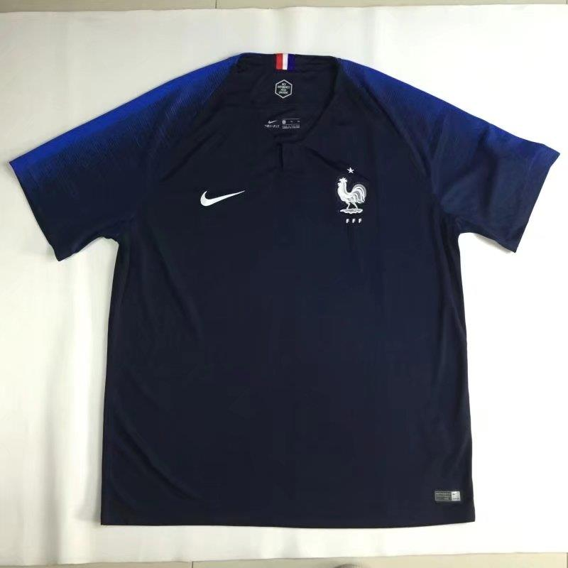 pretty nice 32a87 df14d France Home Jersey World Cup 2018