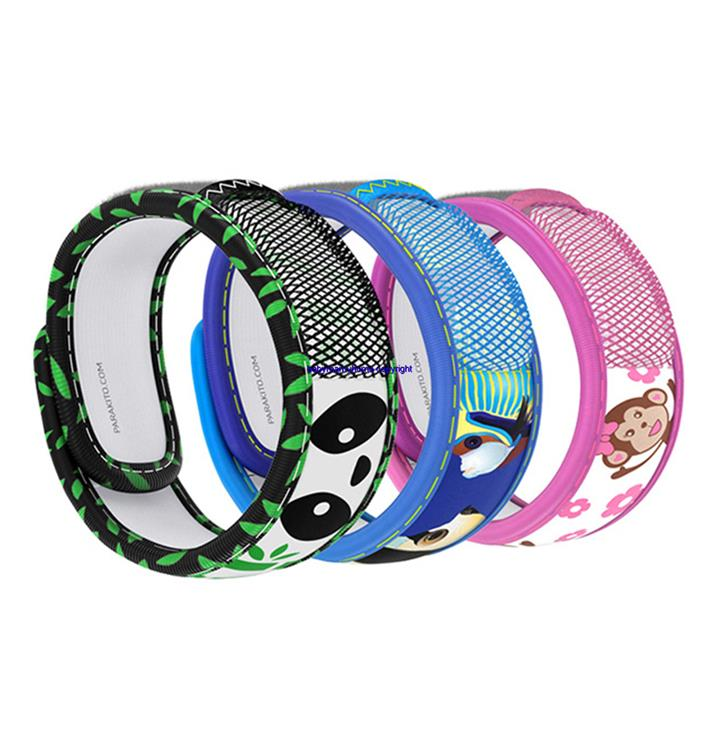 France Parakito Adult Kids Insect Mosquito Repellent Band Bracelet