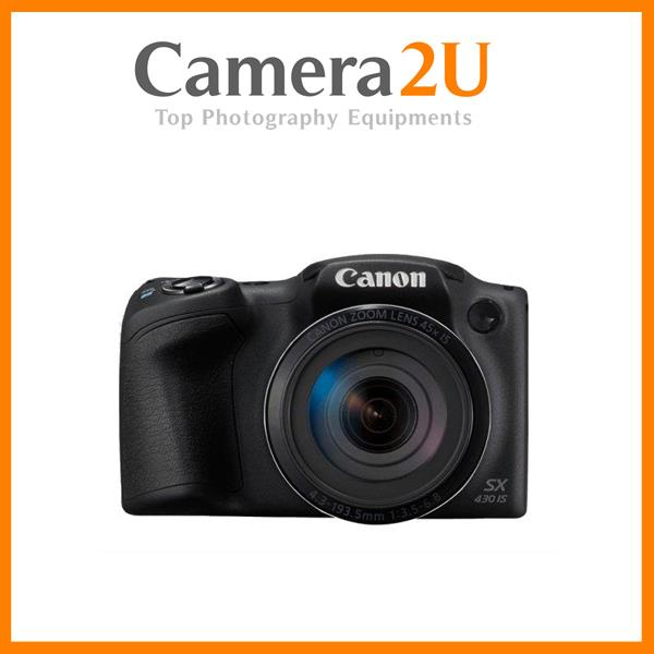 Free 16GB+Bag Canon PowerShot SX430 IS 45X Optical WiFi Digital Camera