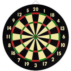 "[Free 6 Darts ] 17"" Professional Competition darts dartboard"