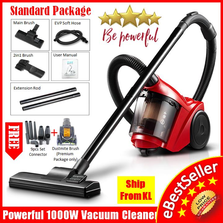 FREE 9pcs Set + YAIRZ-XC90 Vacuum Cleaner Household Dust mite, Acarid