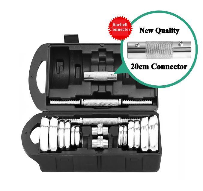 York Adjustable Dumbbells: FREE BOX & CONNECTOR YORK Iron Chrom (end 8/22/2019 1:15 PM