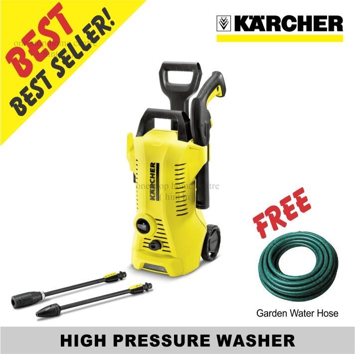 Best Pressure Washer 2020.Free Garden Hose Karcher High Pressure Washer K2 Premium Full Control
