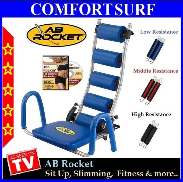 Ab Rocket Exercise Slimming Fitness Gym Equipment
