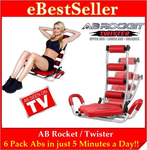 Free Gift Ab Rocket Twister Six Pack Exercise Slimming Fitness Gym