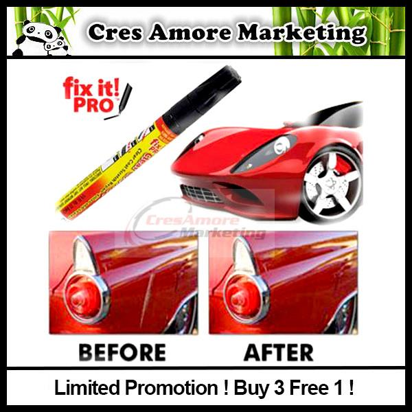 Free Gift + Fix It Pro Scratch remover Repair Pen Original