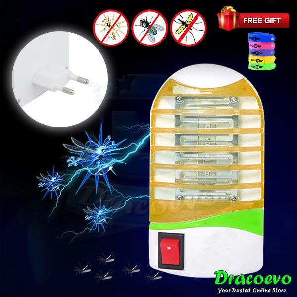 FREE GIFT Mosquito Insect Killer LED Lamp Photocatalyst Repellent Trap