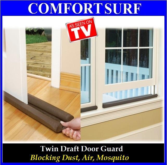 FREE GIFT + Twin Draft Door Guard Blocking Dust U0026 Door Clean Strip. U2039 U203a