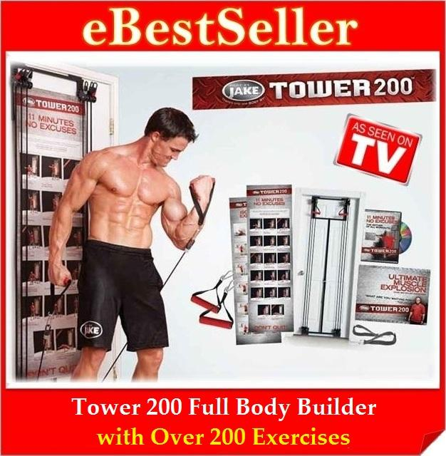 Free Gift Workout Dvds Charts Full Body Tower 200 Builder Exercise