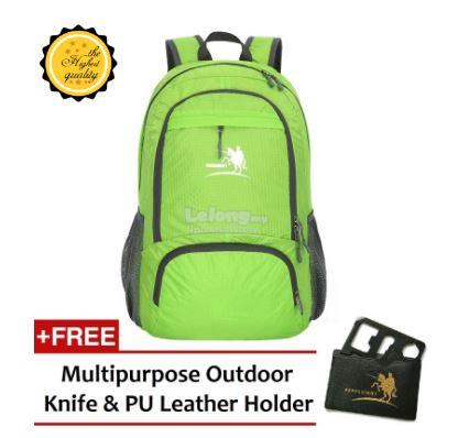 Free Knight 0716 Backpack Light Green