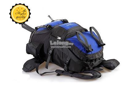 Free Knight 50L Outdoor Hiking Backpack Blue
