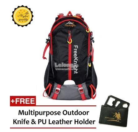 Free Knight FK0212 Travel and Outdoor Backpack Black