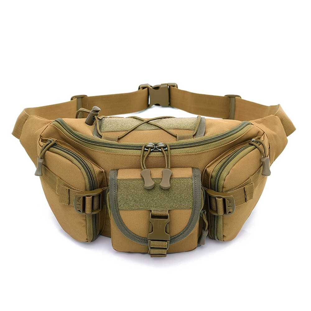 c361c18f33b9 Free Knight Outdoor Molle Waist Pack Fanny Packs Hip Belt Bag Pouch for  Hiking