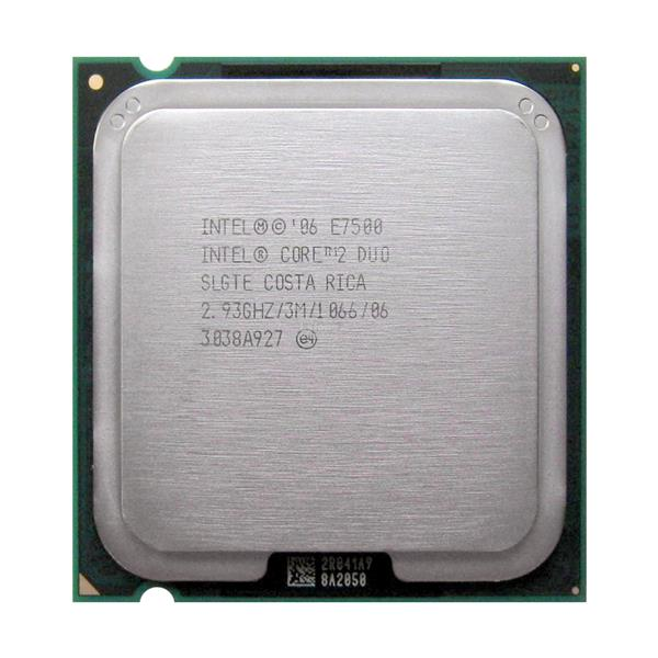Free POS / Intel Core 2 Duo E7500 2.93 GHz LGA775 Intel CPU processor