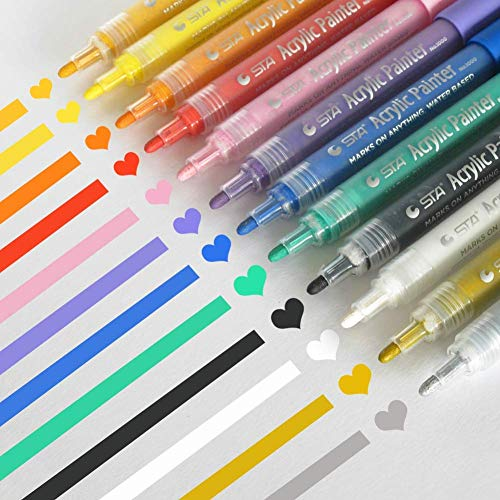 Free Shipping Acrylic Paint Markers