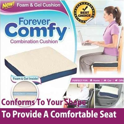 Free Shipping Combination Foam & Gel Cushion for Comfort Sit & Healthy