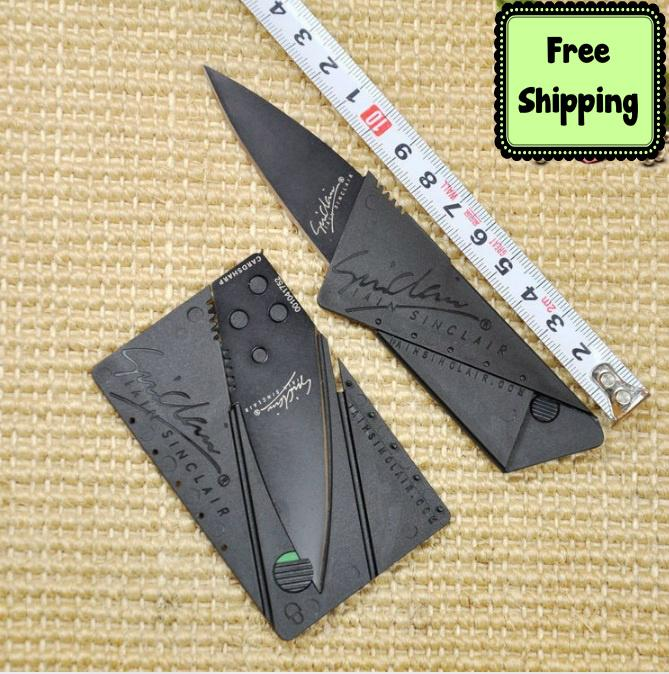 Free Shipping-Credit Card Sized Folding Safety Knife