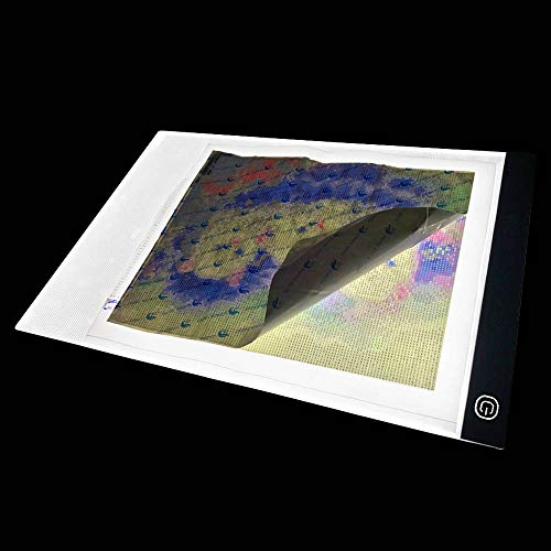 [Free shipping]Diamond Painting A3 LED Light Pad Board Tablet Jumbo  & Dim