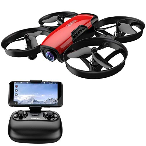 [Free shipping]Drone for Kids with Camera SANROCK U61W FPV Wi-Fi Drone with Ca